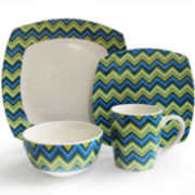 Zigzag 16-pc. Dinnerware Set