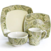 Paddock Shawl 16-pc. Dinnerware Set
