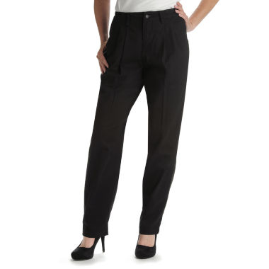 jcpenney.com | Lee® Side-Elastic Straight-Leg Twill Pants
