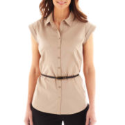 Worthington® Essential Sleeveless Shirt