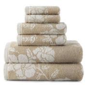 Liz Claiborne® Floral Bath Towels