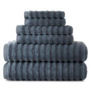 Studio™ Quick-Dri™ Ribbed Bath Towels