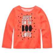 Okie Dokie® Halloween Tee - Toddler Girls 2t-5t