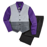 Steve Harvey® 4-pc. Suit Set - Boys 8-20