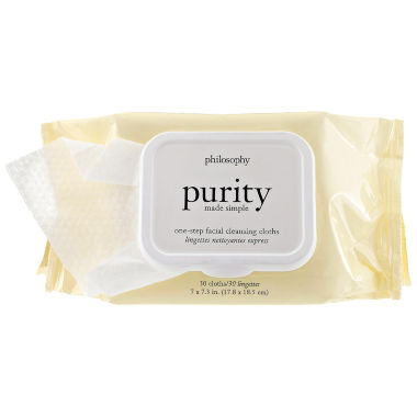 jcpenney.com | philosophy Purity Made Simple One-Step Facial Cleansing Cloths