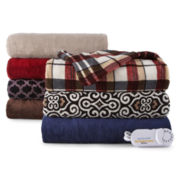 Biddeford® Plush Heated Throw