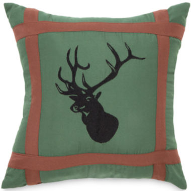 "jcpenney.com | True Timber Mixed Pine 16"" Square Decorative Pillow"