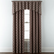 Liz Claiborne® Henri Rod-Pocket/Back-Tab Window Treatments