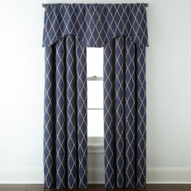 jcpenney.com | JCPenney Home™ Hamilton Rod-Pocket/Back-Tab Window Treatments