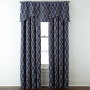 JCPenney Home™ Hamilton Rod-Pocket/Back-Tab Window Treatments
