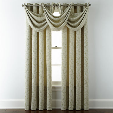 Window Treatment jcpenney valances window treatments : JCPenney Home™ Anza Grommet-Top Window Treatments - JCPenney
