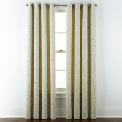 jcpenney.com | JCPenney Home™ Anza Grommet-Top Curtain Panel