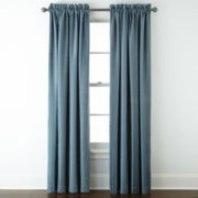 Royal Velvet® Kendall Stripe Rod-Pocket Window Treatments