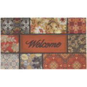 Mohawk Home® Floral in Fall Welcome Doormat