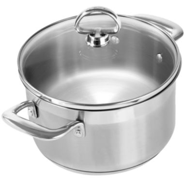 jcpenney.com | Chantal® Induction 21 Steel™  2-qt. Soup Pot With Glass Lid