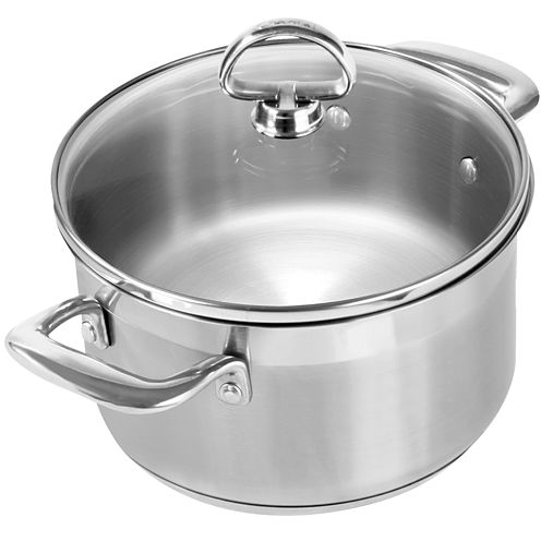 Chantal® Induction 21 Steel™  2-qt. Soup Pot With Glass Lid