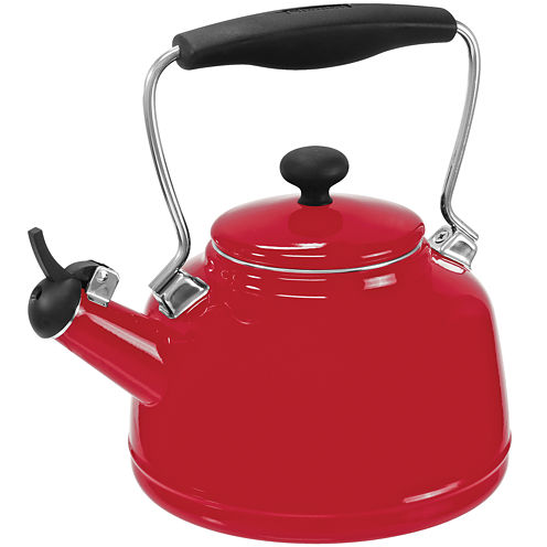Chantal® 2-qt. Enamel-on-Steel Vintage Teakettle