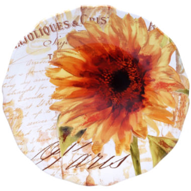 jcpenney.com | Certified International Paris Sunflower Round Platter