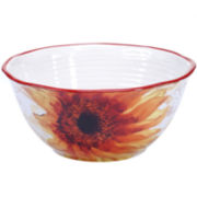 Certified International Paris Sunflower Deep Bowl