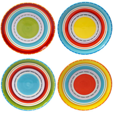 jcpenney.com | Certified International Mariachi Set of 4 Dinner Plates