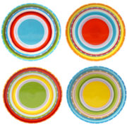 Certified International Mariachi Set of 4 Salad Plates