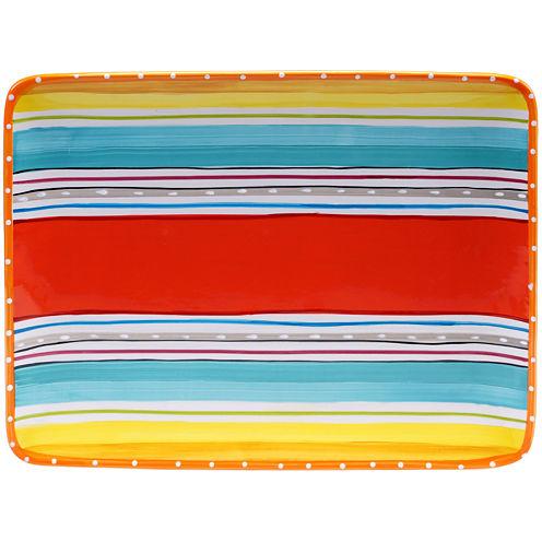 Certified International Mariachi Rectangular Platter