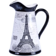 Certified International Paris Travel Pitcher