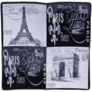 Certified International Paris Travel 4-Section Server