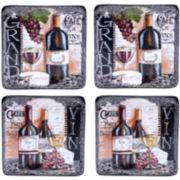 Certified International Grand Vin Set of 4 Salad Plates