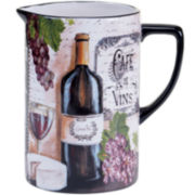 Certified International Grand Vin Pitcher