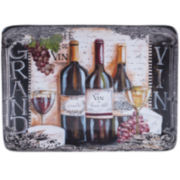 Certified International Grand Vin Rectangular Platter