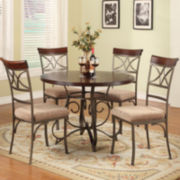 Glenside 5-pc. Dining Set with Side Chairs