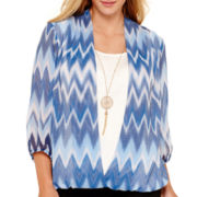 Alyx® Wrap-Front Print Top