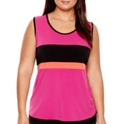 Worthington® Colorblock Tank Top - Plus