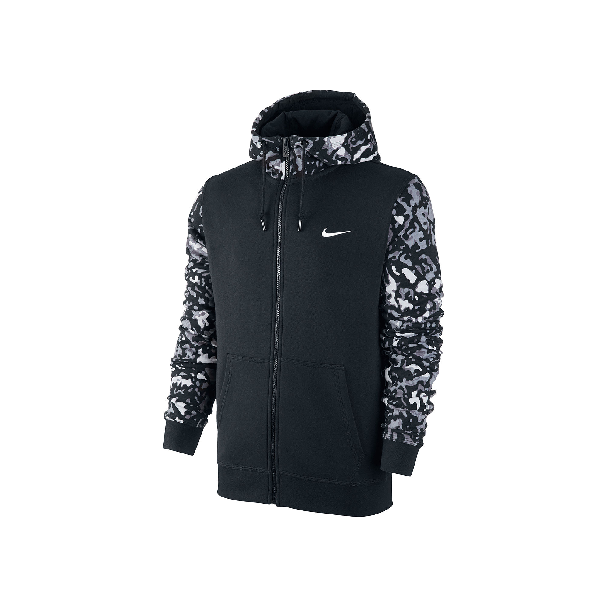 upc 885179639639 nike club camo full zip terry hoodie. Black Bedroom Furniture Sets. Home Design Ideas