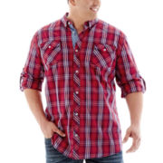 i jeans by Buffalo Long-Sleeve Woven Shirt-Big & Tall