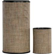 1530 Lamont Home Round Hamper And Wastebasket Set