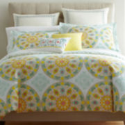 Santorini Medallion Comforter Set & Accessories