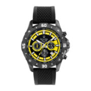 Bulova Marine Star Mens Yellow Chronograph Sport Watch