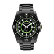 Bulova® Marine Star Mens Black & Lime Sport Watch