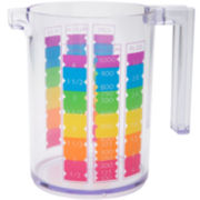 Zak Designs® Rainbow 4-Cup Measuring Cup