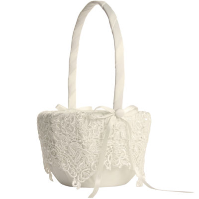 Ivy Lane Design™ Vintage Lace Flower Girl Basket
