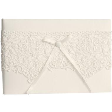 jcpenney.com | Ivy Lane Design™ Vintage Lace Guest Book