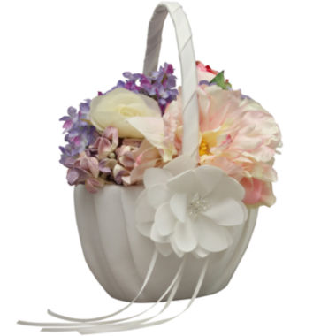 jcpenney.com | Ivy Lane Design™ Water Lily Flower Girl Basket