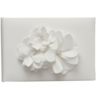 jcpenney.com | Ivy Lane Design™ Water Lily Guest Book