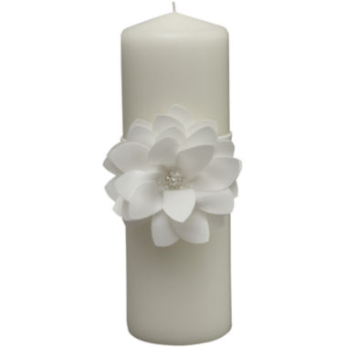 jcpenney.com | Ivy Lane Design™ Water Lily Pillar Candle