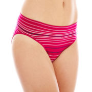 Ambrielle® Everyday Seamless High-Cut Panties