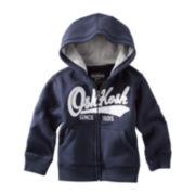OshKosh B'gosh® Zip-Front Hoodie – Boys 4-7