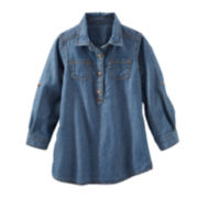 OshKosh B'gosh® Chambray Tunic Dress – Girls 2t-4t