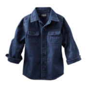 OshKosh B'gosh® Long-Sleeve Denim Top – Boys 2t-4t